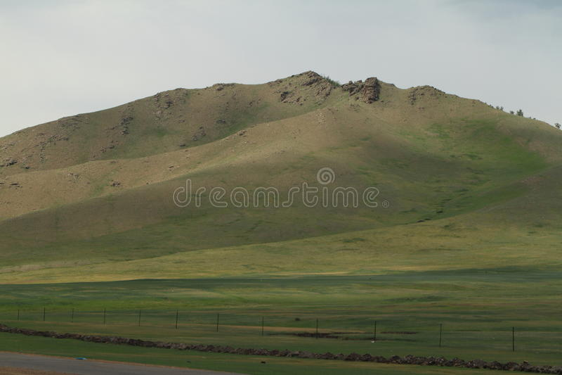 Mongoła krajobraz obrazy stock
