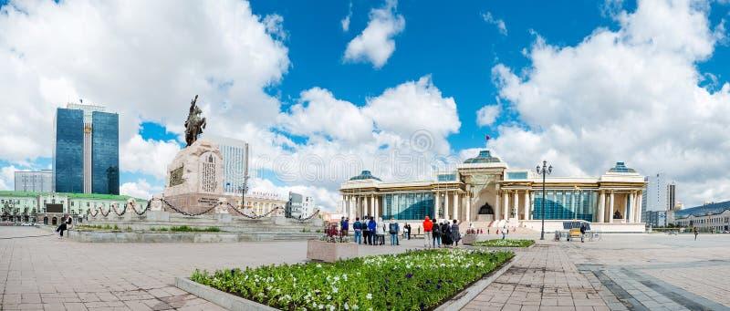 Mongolia ulaanbaatar capital stock photos