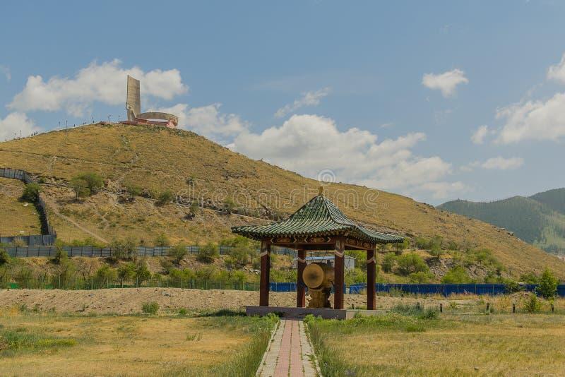 Mongolia - Ulaanbaatar - Zaisan Memorial royalty free stock image