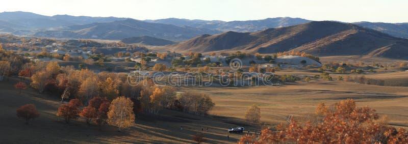 mongolia wewnętrzna panorama zdjęcie stock