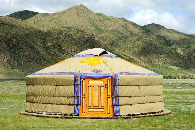 Mongolia yurt royalty free stock image