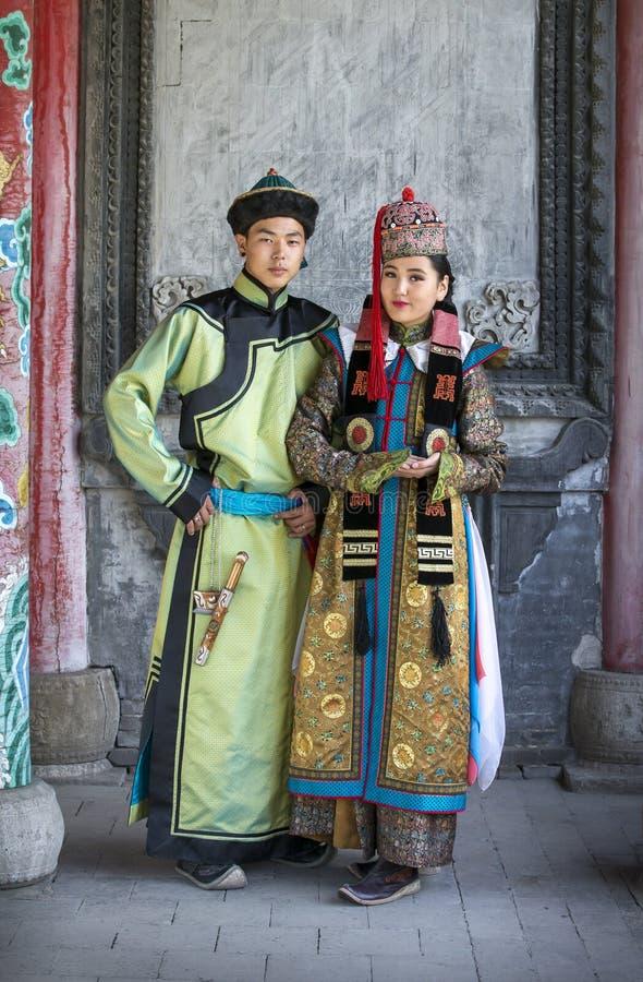 Mongolian wrestler/'s traditional outfitMongolian national clothing