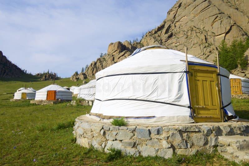 Mongolian le Gers images libres de droits