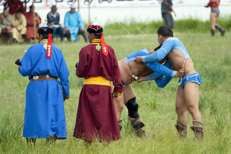 Download Mongolian Wrestling Match Editorial Photography - Image: 36743747
