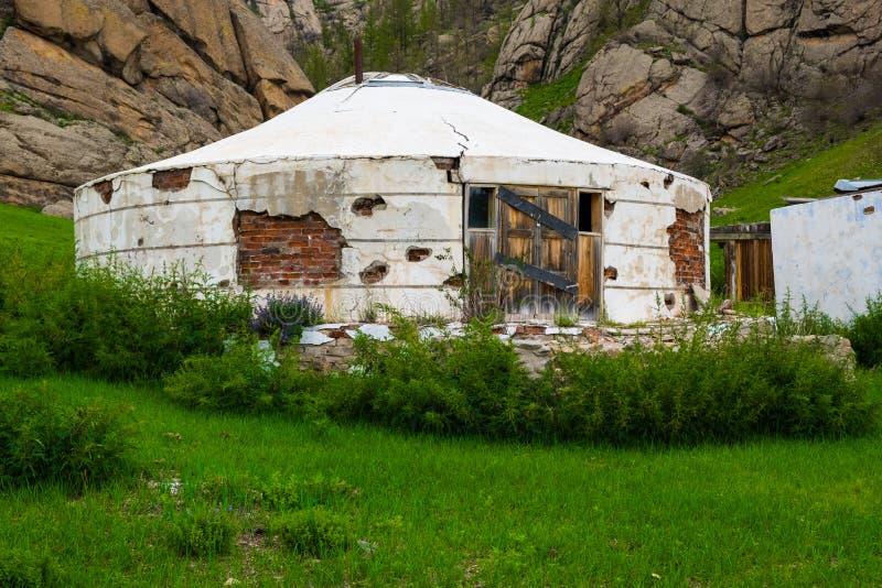 Mongolisches Arthaus lizenzfreie stockfotografie