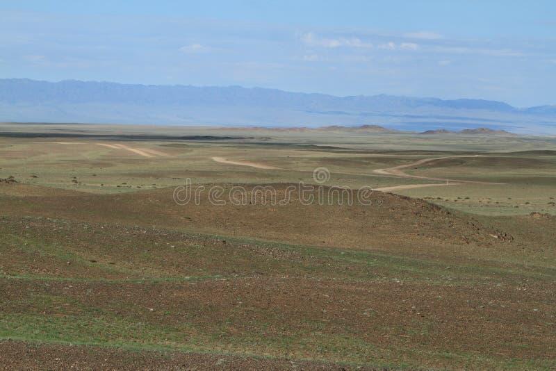Mongoliskt landskap arkivfoton
