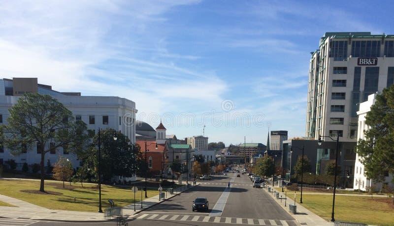 Mongomery do centro Alabama do capital fotografia de stock royalty free