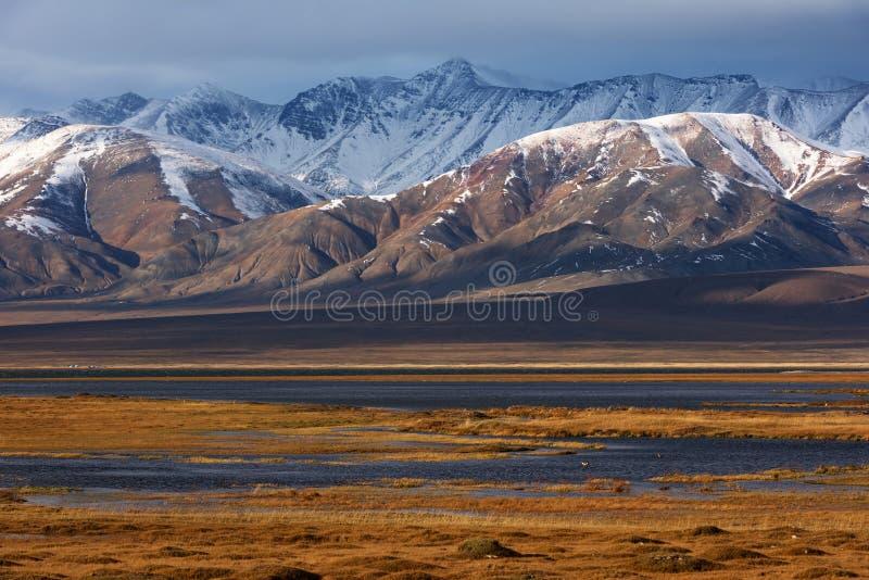 Mongools Altai-landschap royalty-vrije stock fotografie