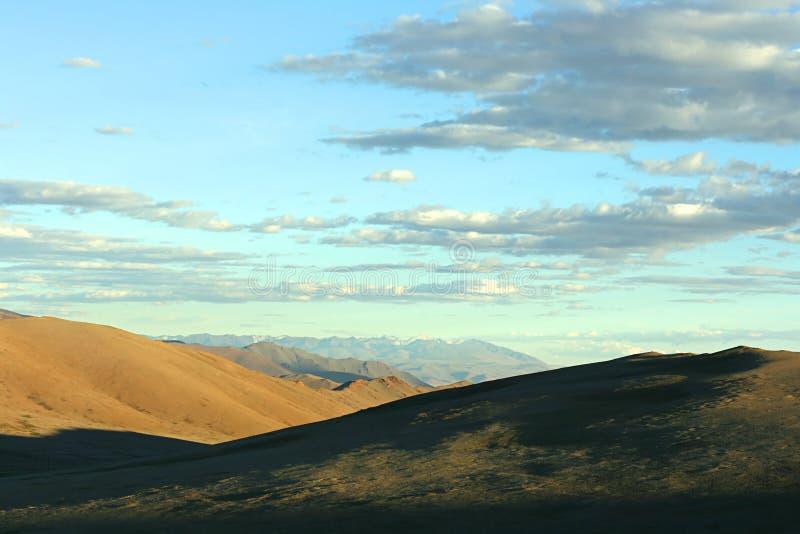 Mongools landschap stock fotografie