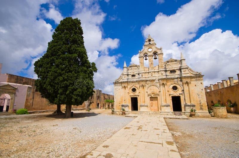Moni Arkadiou monastery - Crete, Greece royalty free stock images