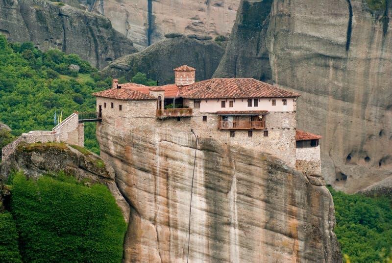 Download Moni rousanou 库存照片. 图片 包括有 著名, 宗教信仰, 修道院, 远程, 天空, 修士 - 15684894