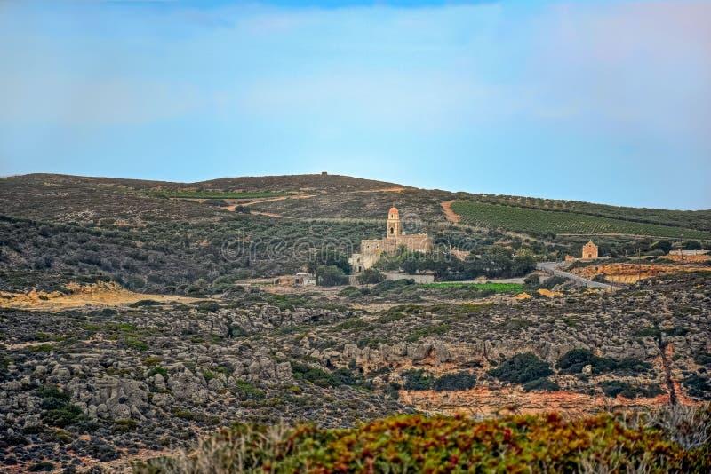 Moni Toplou Monastery, Crete, Greece stock image