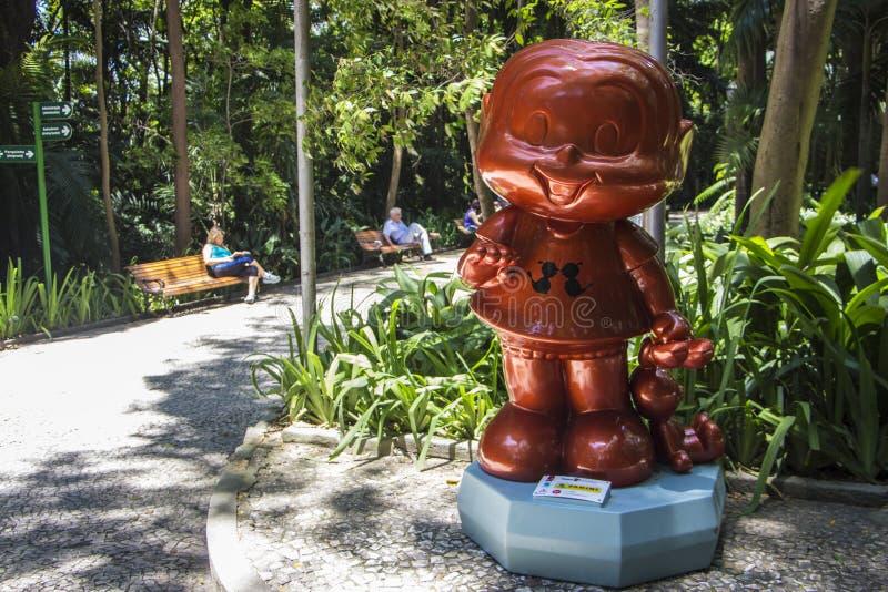 Monica parada Sao Paulo - Trianon park - zdjęcie stock