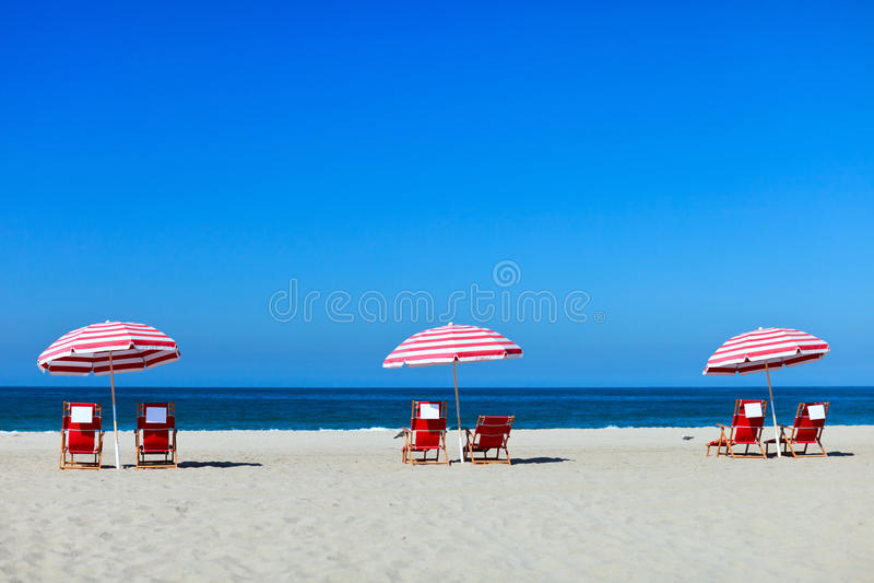 Monica-Strand stockfoto
