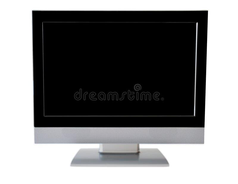Moniteur d'écran plat image libre de droits