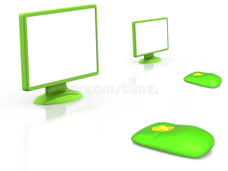 Download Monitor stock illustration. Image of computers, graphic - 11371904
