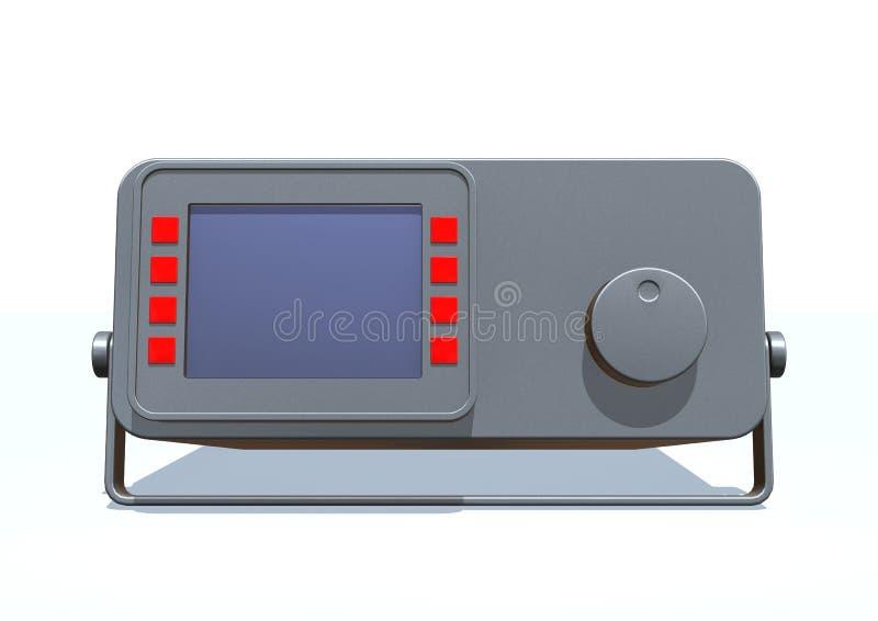 Download Monitor stock illustration. Illustration of instrument - 11888032