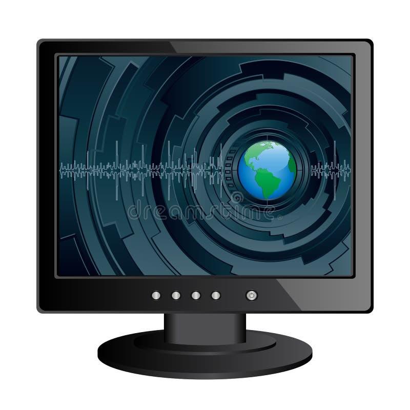 Download Monitor Stock Image - Image: 15185151