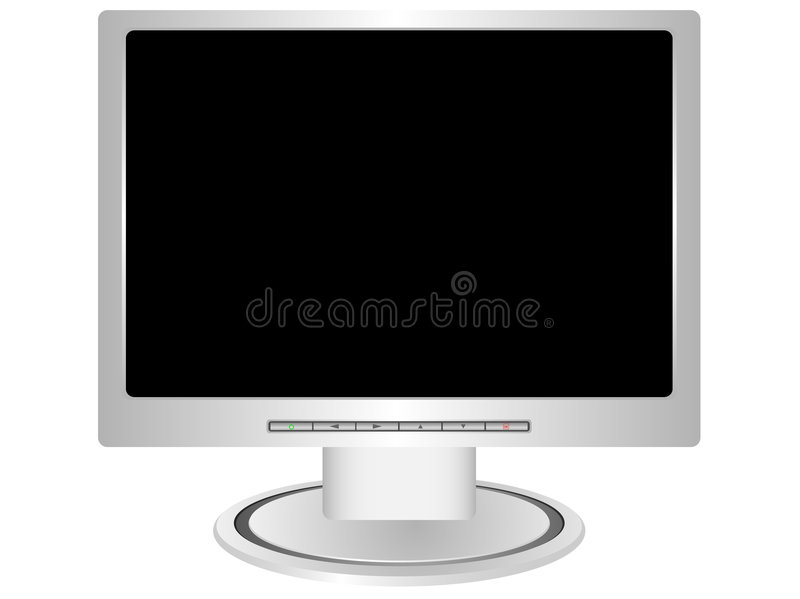 monitor ilustracja wektor