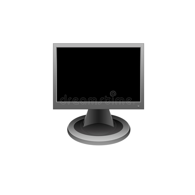 Download Monitor stock illustration. Image of system, representation - 9155405