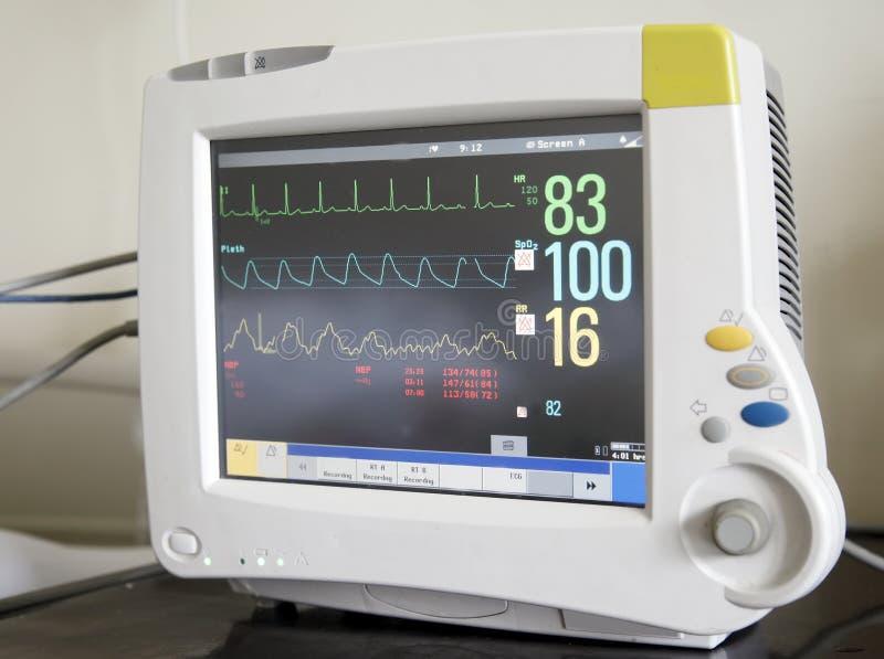 Monitor de corazón fotografía de archivo libre de regalías