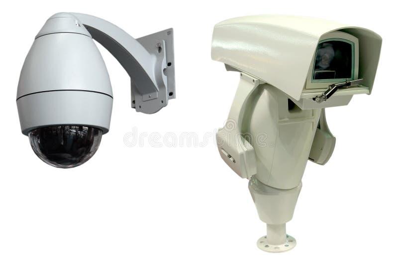 Monitor De La Seguridad Fotografía de archivo