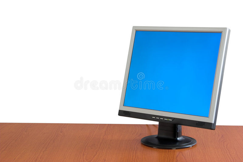 Monitor de visualización del LCD imagen de archivo libre de regalías