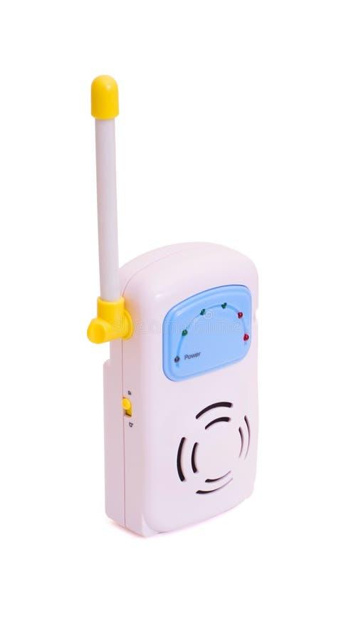 Monitor del bebé foto de archivo