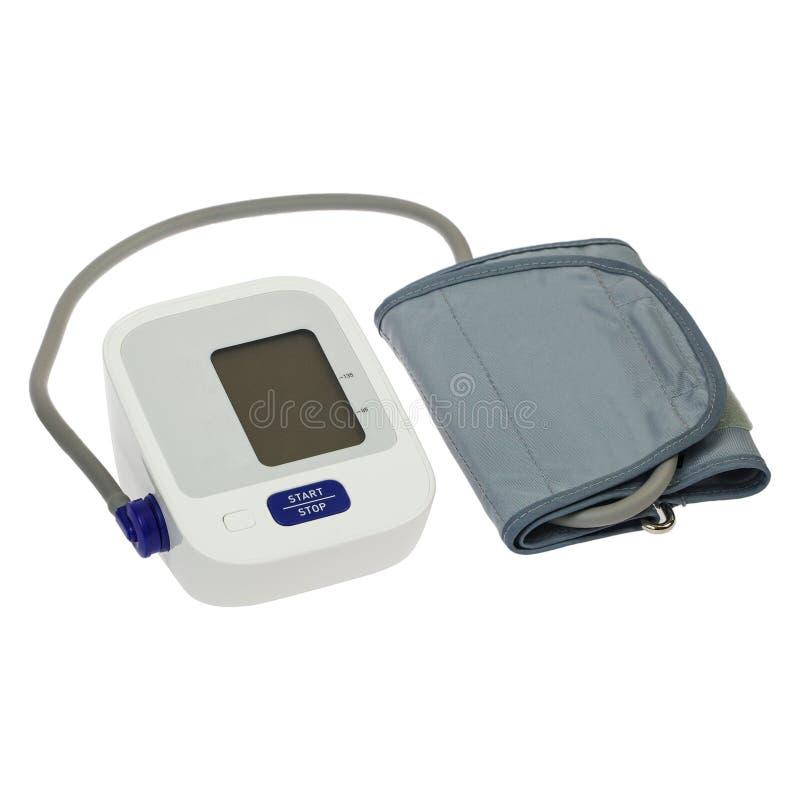 Monitor di pressione sanguigna di Digital Tonometer fotografia stock