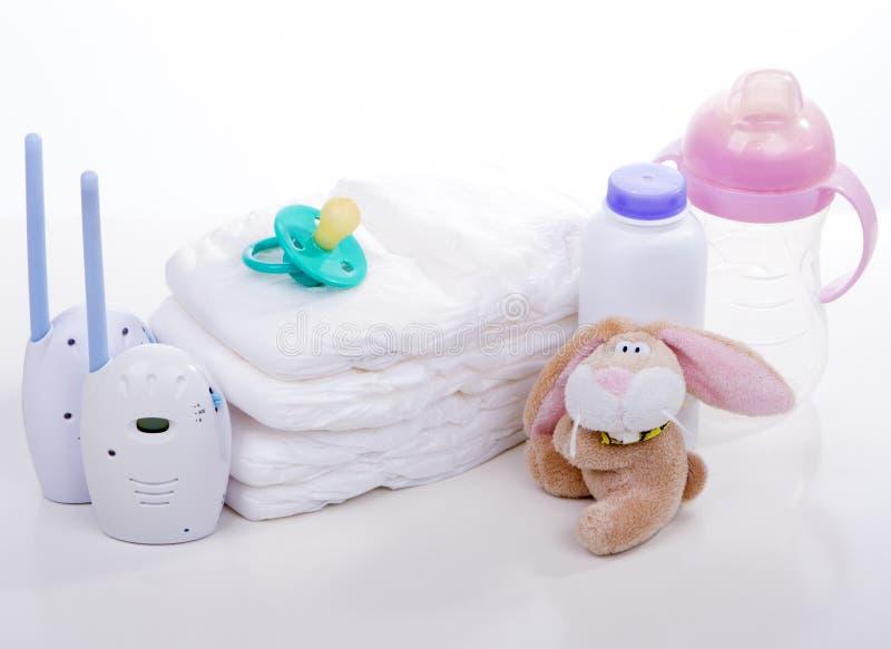 Monitor do bebê fotografia de stock