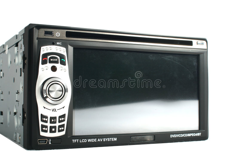 Monitor do carro fotos de stock royalty free