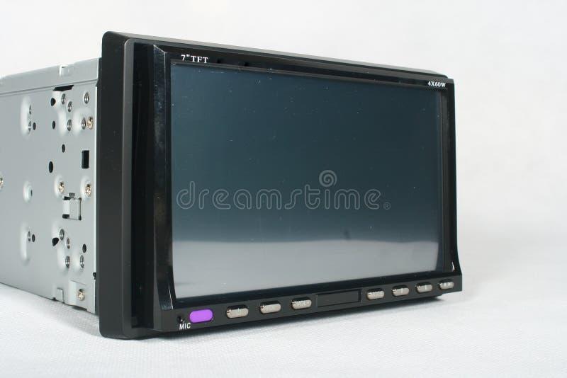 Monitor do carro imagens de stock