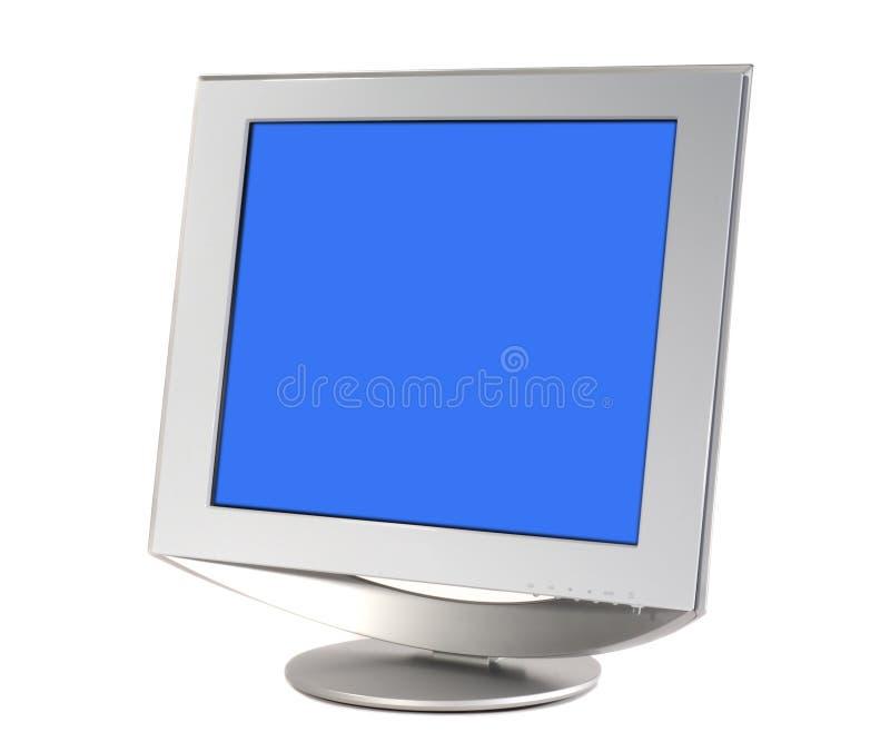 Monitor do ecrã plano foto de stock royalty free