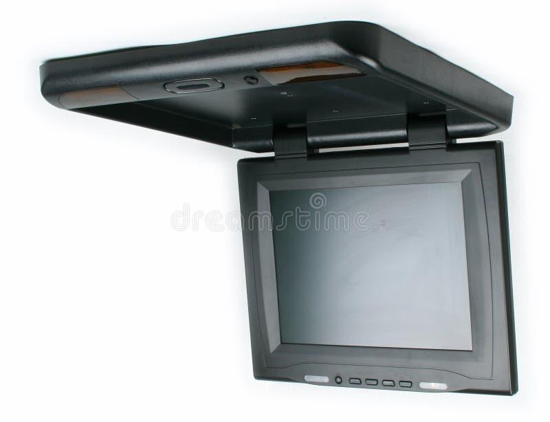 Monitor e reprodutor de DVD do carro imagem de stock royalty free