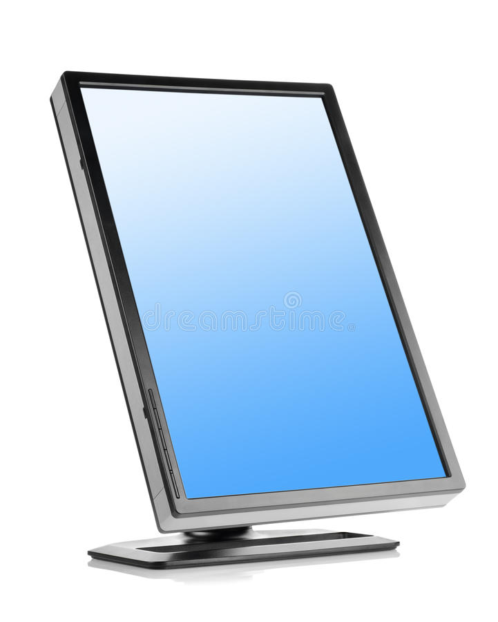 Download Monitor isolated stock image. Image of equipment, computer - 21423443