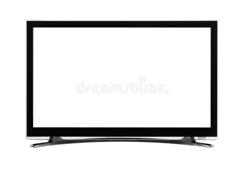 Monitor llevado o del lcd de Internet TV imagen de archivo libre de regalías