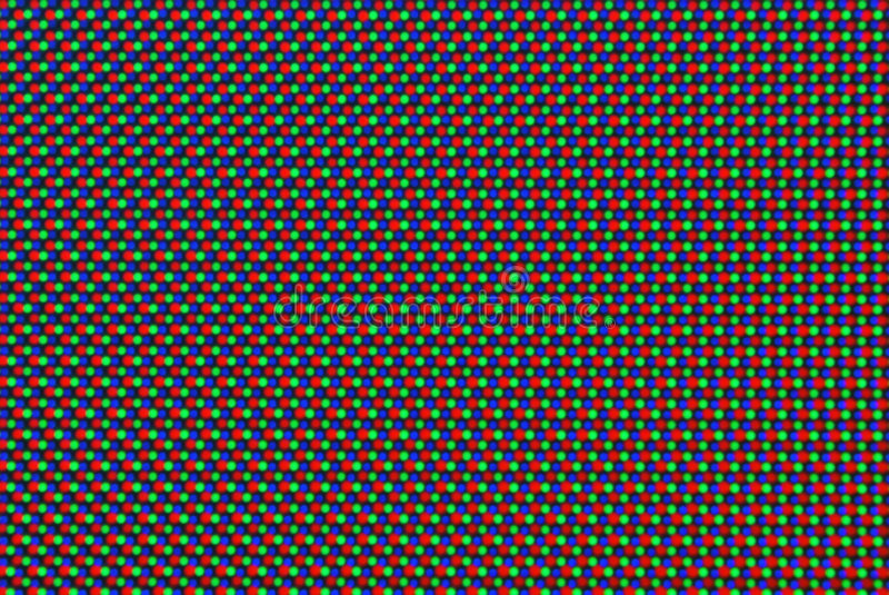 Monitor pixel. Macro detail from computer monitor royalty free stock image