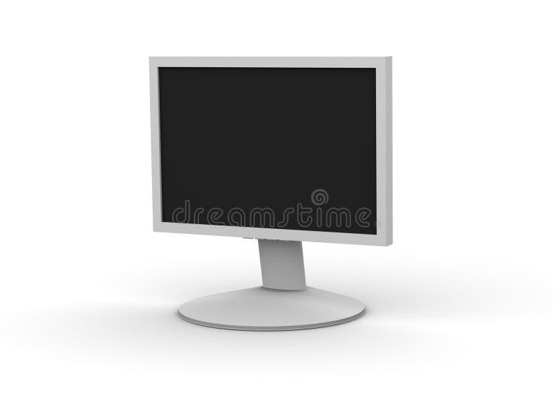 monitora lcd royalty ilustracja