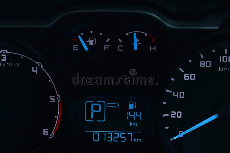Monitore o estado do carro foto de stock royalty free