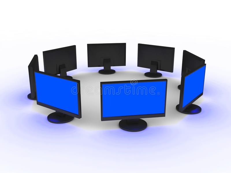 Monitores libre illustration