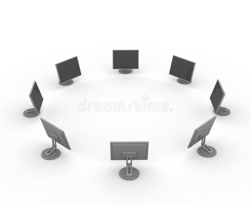 Monitores foto de archivo libre de regalías