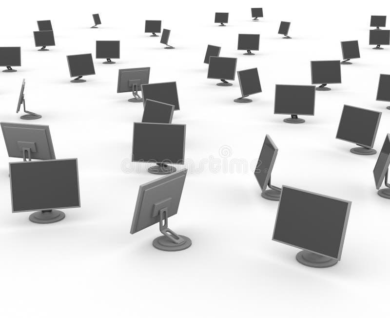 Monitores fotografía de archivo libre de regalías