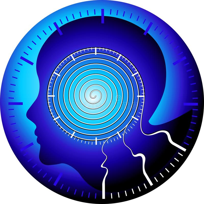 monitorowanie medyczne technologie ilustracja wektor