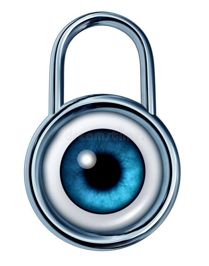 monitorowanie ochrona royalty ilustracja