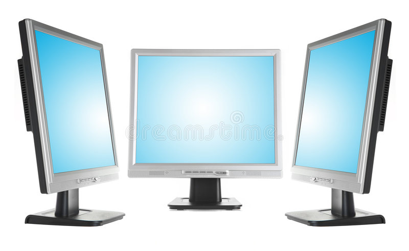 Monitors royalty free stock photos