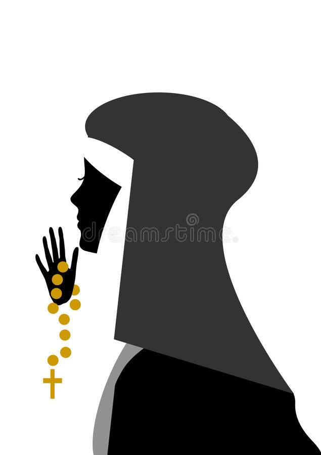 Monja libre illustration