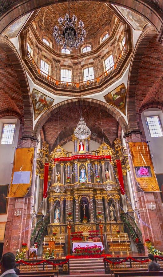 Monjas San Miguel de Allende Mexico de la Inmaculada Concepción del convento fotografía de archivo