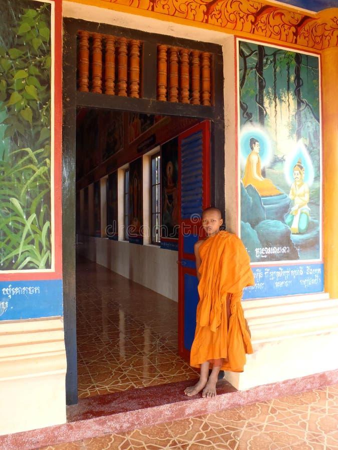 Monje budista foto de archivo libre de regalías