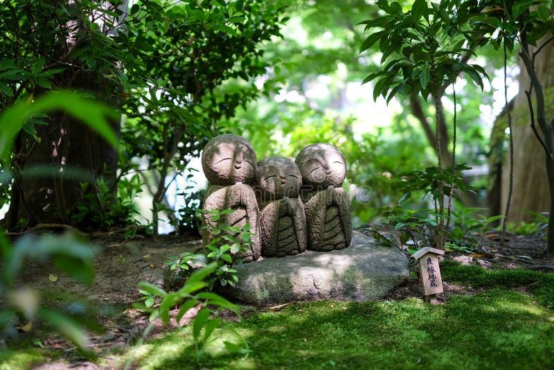 Monje Statue de Japón fotos de archivo