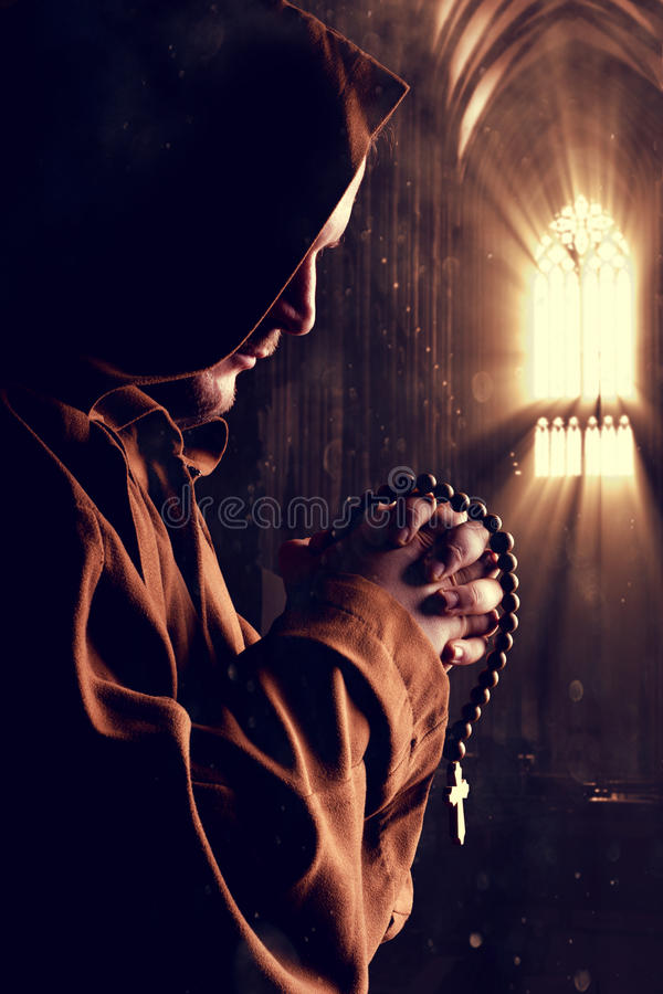 Download Monk at church stock image. Image of church, hope, monk - 42426649
